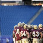 Football team reflects on loss at Gillette