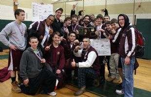 Boys' Wrestling Team Finishes Successful Season