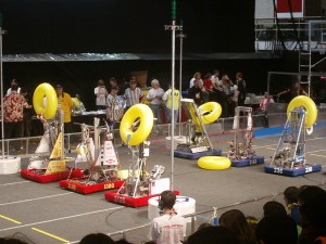 Robotics Team participates in an exciting FRC competition