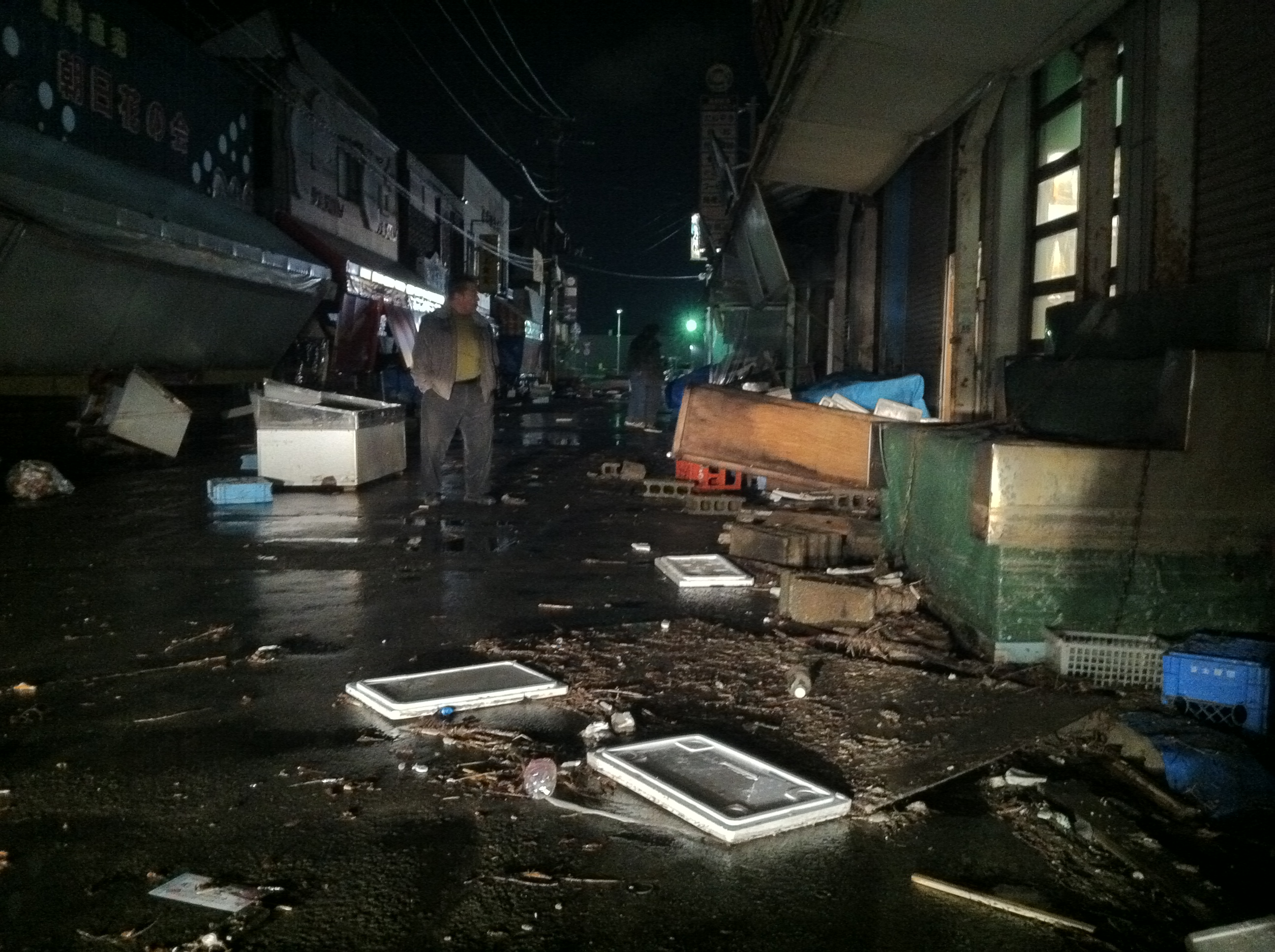 Pictures taken by Concord resident of aftermath in Japan