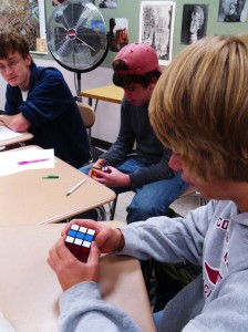 The Rubik's Cube craze