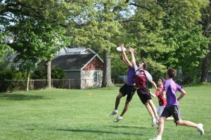 CCHS Ultimate Frisbee goes to St. Johnsbury for a tournament