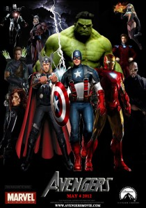 The Avengers: Six classic heroes in one brain-bashing film