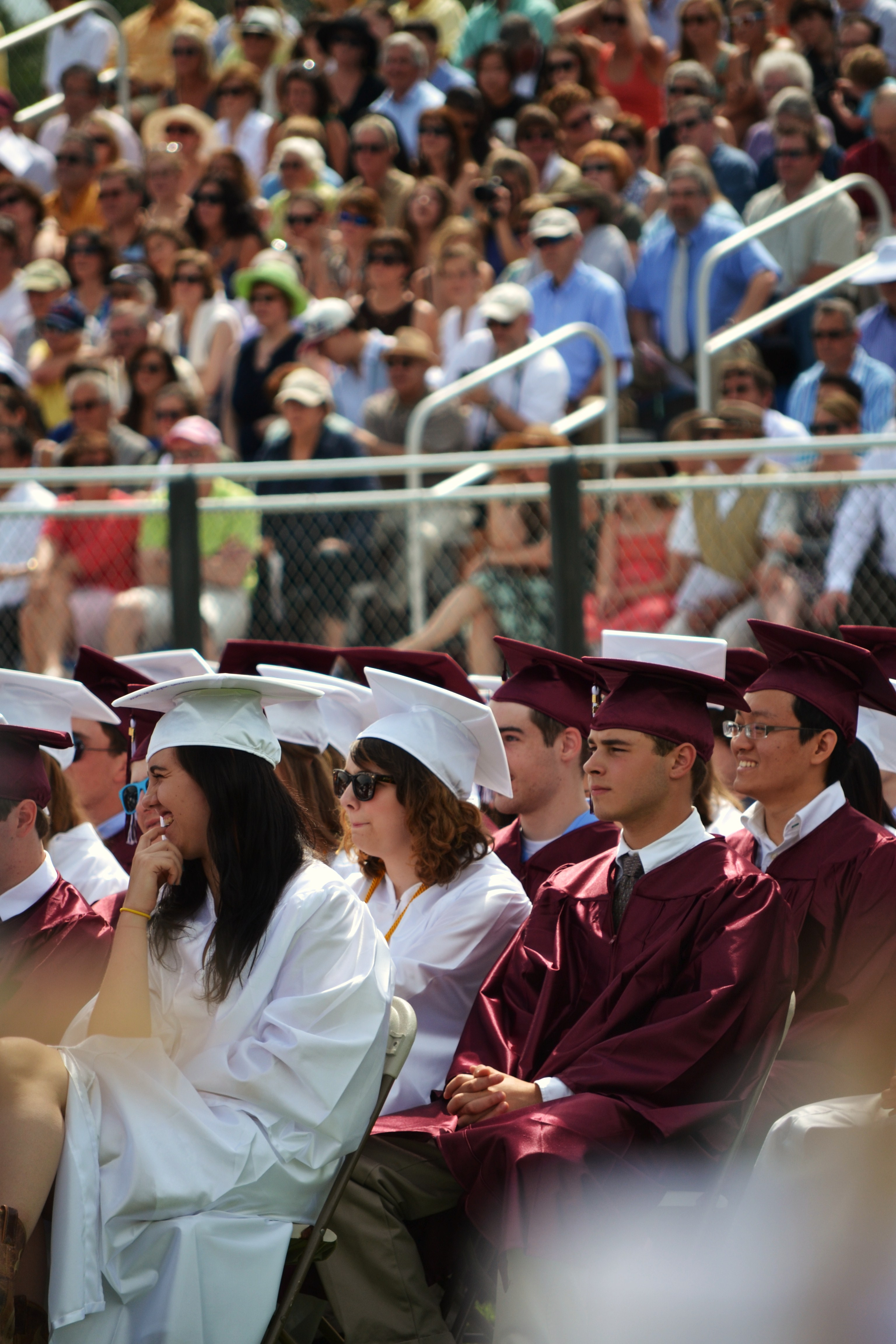 """Embrace balding gracefully""- CC Seniors look towards their future at the Graduation of the 2012 class"