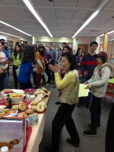Chinese exchange welcome breakfast