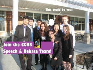 Forensics Team Argues All the Way to States