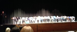 On the Beach in an Auditorium? The Annual Hypnotist Show