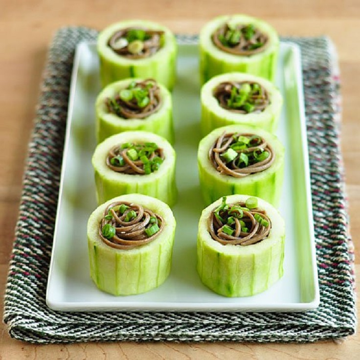 Novel Lunch Idea: Cucumber Sammies!