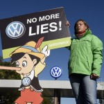 VW has come under fire for cheating on admissions tests
