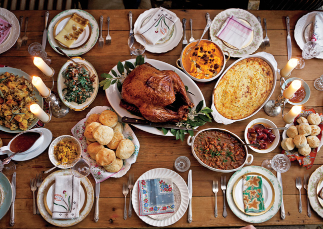 The Perfect Thanksgiving Spread