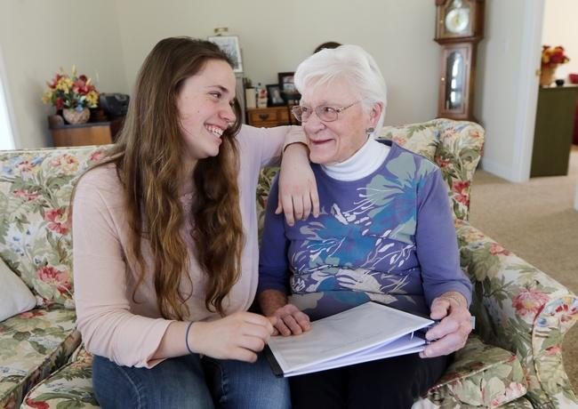 Rivers Program Connecting Students to Seniors