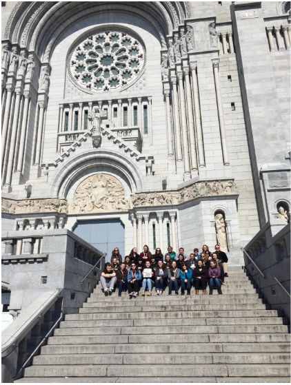 French Students Visit Québec City