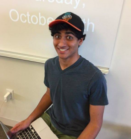 "Manan Arora '17: ""Game of Thrones because it's an interesting show and it's really cool to see the things that unfold."""