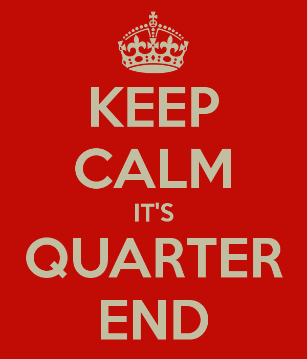 Quarter One Ends