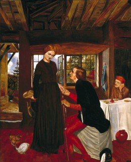 The Proposal (The Marquis and Griselda) circa 1850 Frederic George Stephens 1828-1907 Bequeathed by H.F. Stephens 1932 http://www.tate.org.uk/art/work/N04633