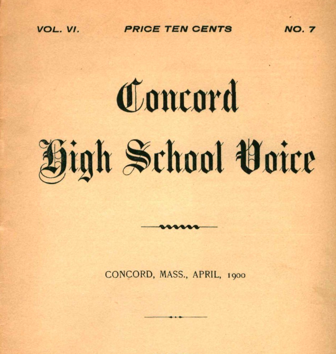 CCHS The Voice Archives Available For Perusing