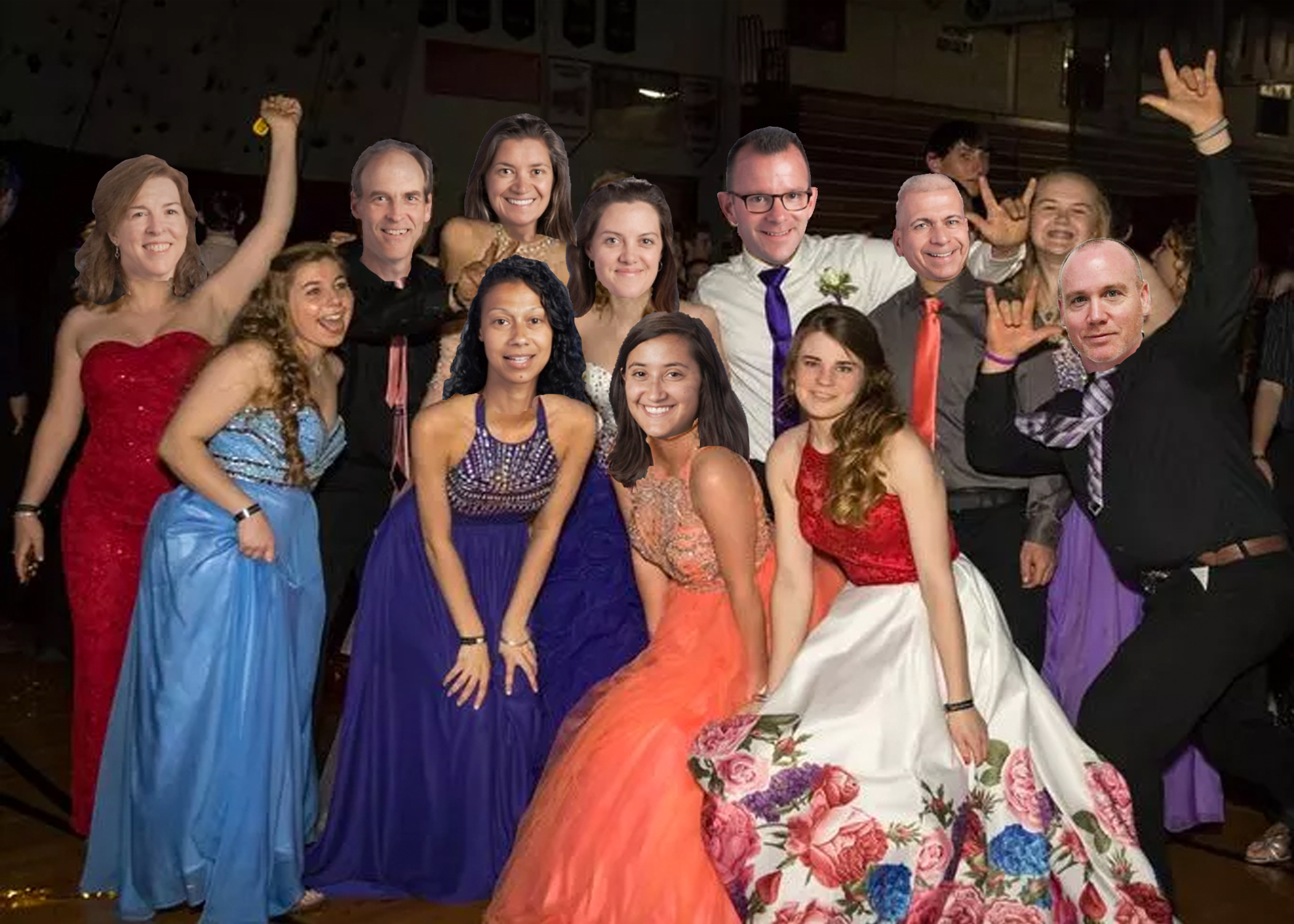 Teacher Prom Was a Hit