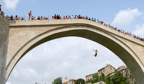 "If everyone jumped off a bridge, would you jump, too?"" ""Yes "" – The"
